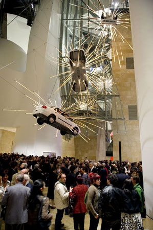 Opening reception for I Want to Believe at the Guggenheim Bilbao, 17 March 2009. ©FMGB Guggenheim Bilbao Museoa, Photo: Erika Barahona-Ede