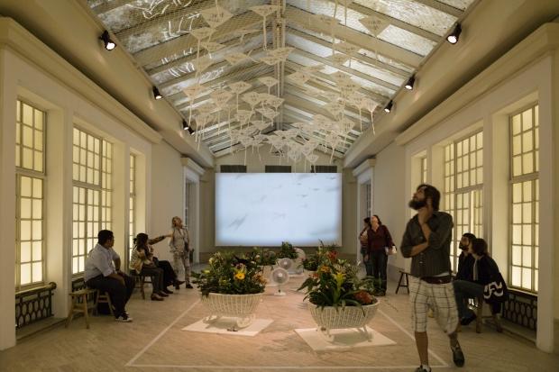 Installation view of Milestones, Centro Cultural Banco do Brasil, Rio de Janeiro, 2013 Photo by Joana França