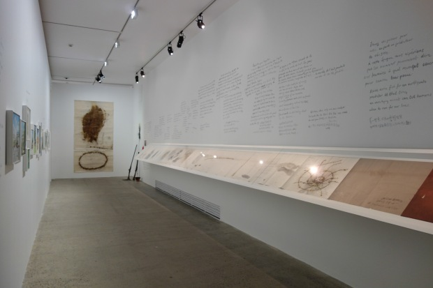 Installation view of Cai and Hong Hong at Fondation Cartier, 1993, Paris, France, 2014 Photo by Mariluz Hoyos, courtesy Cai Studio