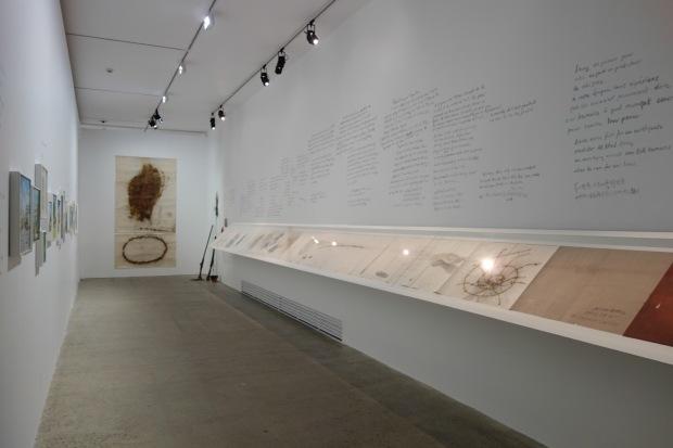 Installation view of Cai and Hong Hong at Fondation Cartier, 1993, Paris, France, 2014 Photo by Mariluz Hoyos, courtesy Cai Studio